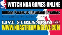 Watch Indiana Pacers vs Cleveland Cavaliers Live Streaming Game Online