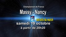 Extraits - Massy Essonne HB / Grand Nancy ASPTT HB - handball ProD2
