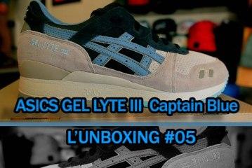 L'Unboxing #05 Asics Gel Lyte 3 Captain Blue