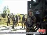 ভারত নিয়ন্ত্রিত কাশ্মীরে সেনাবাহিনীর টহলরত গাড়ির