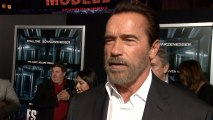 Arnold Schwarzenegger Talks About Being Governor of California At Premiere