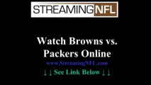 Watch Browns Packers Game Online | Cleveland Browns vs GREEN BAY Packers Live Stream NFL Week 7
