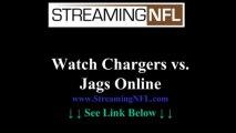 Watch Chargers Jaguars Game Online | San Diego Chargers vs JACKSONVILLE Jaguars Live Stream NFL Week 7