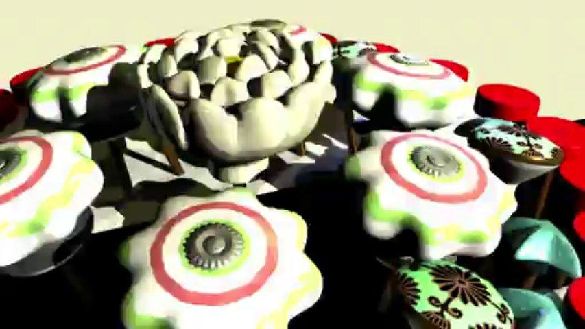 Ceramic Knobs and Glass Vintage Knobs – Carnival Fun With Trinca-Ferro