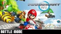 Two Best Mates BATTLE! - Mario Kart Wii [Battle Mode]