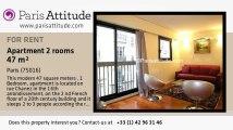1 Bedroom Apartment for rent - Auteuil, Paris - Ref. 7271