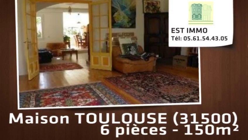 A vendre - maison - TOULOUSE (31500) - 6 pièces - 150m²