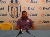 Conferenza stampa con l'allenatore della Nuova Gioiese a fine partita terminata 2-1 per l' Akragas