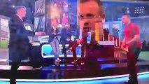 Ginola s'emporte sur un plateau de télé !