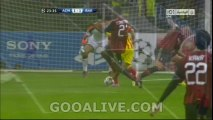 AC Milan vs FC Barcelona || برشلونة vs ميلان || messi Amazing Goal FC Barcelona 1-1 AC Milan ~ 22/10/2013