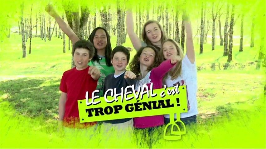"""Le teaser de la Série TV """" Le Cheval c'est Trop Génial """" vous met l'eau à la bouche..."""