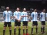 CDM 8e finale : Angleterre - Argentine (Entrée des joueurs)
