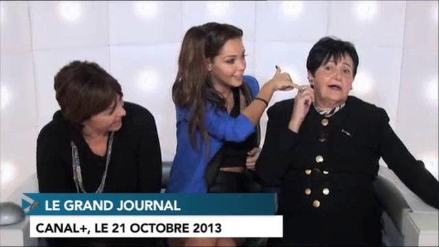"""Nabilla sans culotte dans """"Le Grand Journal"""" de Canal+ ?"""