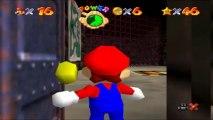 Super Mario 64 - Caverne Brumeuse - Etoile 1 : Gros Bibi de la caverne
