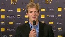 Meilleur joueur international français : Wesley Fofana (ASM Clermont auvergne) représenté par Aurélien Rougerie