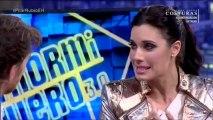 Sergio Ramos sorprende a Pilar Rubio con una canción en El Hormiguero 3.0