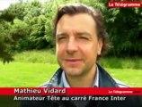 Lamballe. Cours de sciences en direct sur France Inter