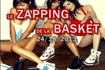 Le Zapping de la Basket du 24 Octobre 2013