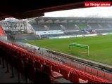 Lorient (56). La nouvelle tribune du Moustoir est prête