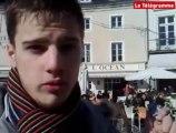 Vannes (56). Des étudiants organisent un freeze en centre-ville