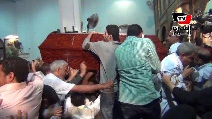 Funérailles des victimes de l'attaque de l'église copte de Warraq