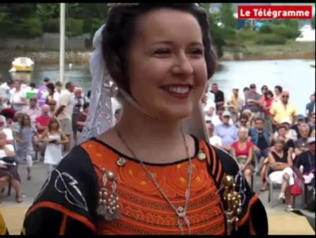 Pont-L'Abbé (29). Nolwenn Pétillon, nouvelle reine des Brodeuses