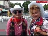 Carhaix (29). Vieilles Charrues : des cow-girls déjà à bloc !