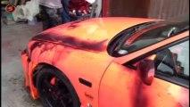 Bu arabanın rengi ısıya duyarlı!