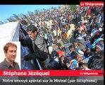 Mistral. Entre 800 et 900 personnes devraient être évacuées par le bateau