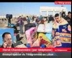 Libye. Ecoutez le témoignage de notre envoyé spécial à la frontière égyptienne