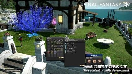 Housing Demo de Final Fantasy XIV: A Realm Reborn