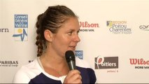 Interview Julie Coin Internationaux Féminins de la Vienne 2013