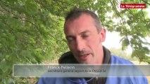 Morbihan. Ecotaxe : les agriculteurs bâchent trois portiques sur les RN 24 et 165