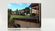 Balustrades de terrasses  INOX DESIGN Tel : 09.66.94.44.90 Achat balustrades de terrasses