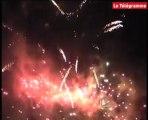 Vannes. Les images du feu d'artifice de clôture des Fêtes d'Arvor