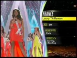 Miss Univers. Laury Thilleman dans le Top 10