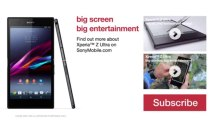 Sony Xperia Z Ultra Commercial Ad 2013 Promotional Video
