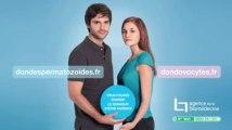Campagne de sensibilisation au don de spermatozoïdes et d'ovocytes