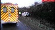 La Forêt-Fouesnant (29). Trois blessés dans une collision entre un car scolaire et un fourgon