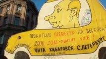 Russie : les images de la mobilisation à Saint-Petersbourg