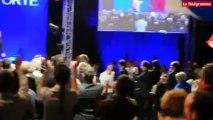 """Morlaix. Nicolas Sarkozy : """"Ne vous laissez pas voler le résultat de l'élection !"""""""