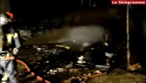 Saint-Brieuc (22). Incendie : des garages et des voitures détruits