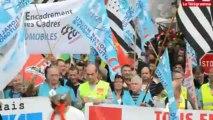 Rennes. PSA : 3.000 manifestants contre les suppressions d'emplois