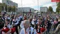 Lorient. Le Bagad de Lann Bihoué triomphe pour ses 60 ans