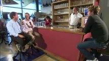 Le Café de la Marine du Télégramme avec Morgan de la Gravière