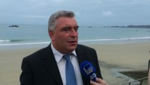 Algues vertes : la position du ministre Frédéric Cuvilier