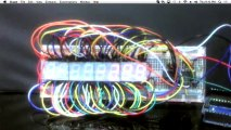 7 Segment Displays With An Arduino - Let's Make It - Episode 22 - Tech-Zen.tv