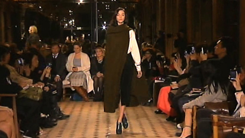 Style.com Fashion Shows – Fall 2013 Ready-to-Wear: Hermes