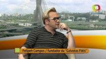 Torcida Gaivotas da Fiel - Veja entrevista com líder de torcida gay do Corinthians -  Parte 3