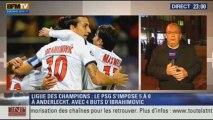"""Le Soir BFM: Ligue des Champions: le PSG a """"Zlatané"""" Anderlecht - 23/10 3/5"""
